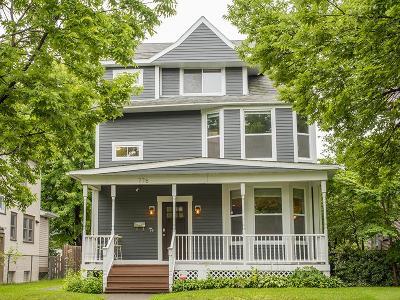 Saint Paul Single Family Home For Sale: 776 Ashland Avenue
