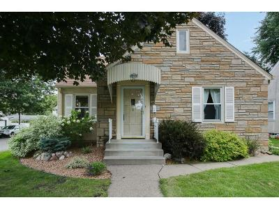 Saint Paul Single Family Home For Sale: 1542 Grotto Street N