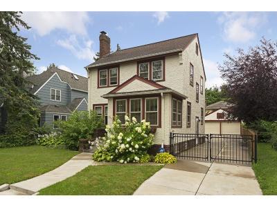 Saint Paul Single Family Home For Sale: 527 Cretin Avenue S