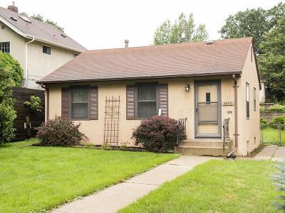 Minneapolis Single Family Home For Sale: 5440 27th Avenue S