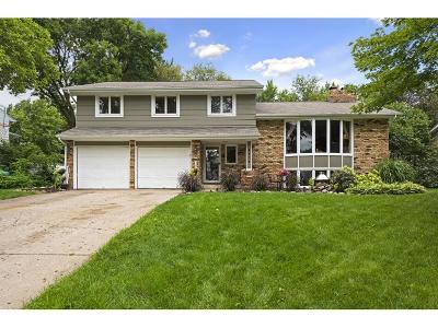 Edina Single Family Home For Sale: 4424 Gilford Drive