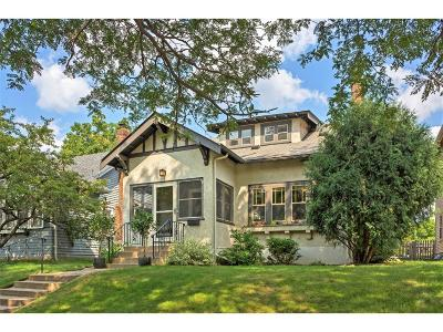 Minneapolis Single Family Home For Sale: 5045 Oliver Avenue S