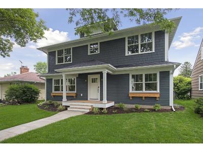 Hennepin County Single Family Home For Sale: 5905 Beard Avenue S