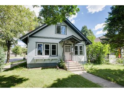 Minneapolis MN Single Family Home For Sale: $174,900