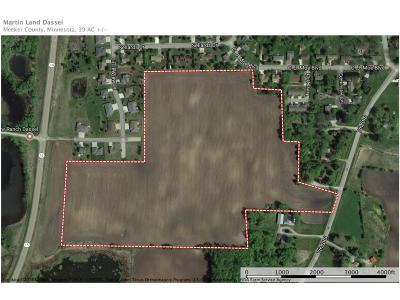 Meeker County Residential Lots & Land For Sale: 22 Csah 4