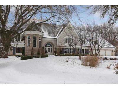 Edina MN Single Family Home For Sale: $2,650,000