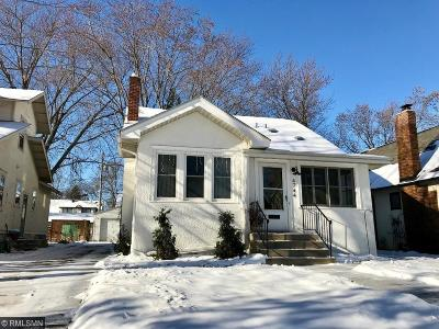 Minneapolis Single Family Home For Sale: 4744 Drew Avenue S