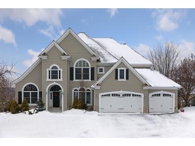 Edina Single Family Home For Sale: 5016 Kelsey Terrace