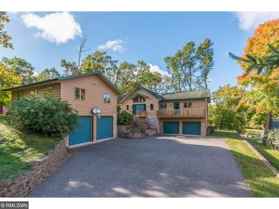 Lake Shore Single Family Home For Sale: 8640 Birchwood Hills Road