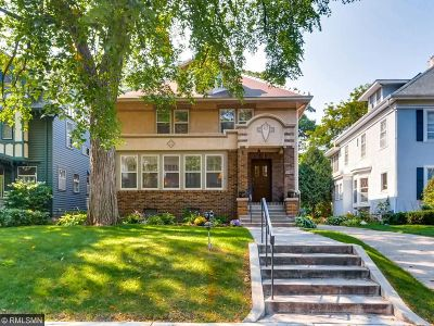 Minneapolis Single Family Home For Sale: 1712 Humboldt Avenue S