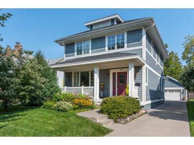 Minneapolis Single Family Home For Sale: 4615 Drew Avenue S