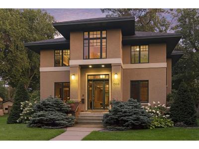 Saint Paul Single Family Home For Sale: 1500 Summit Avenue