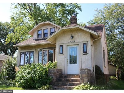 Robbinsdale Single Family Home For Sale: 4269 Lakeland Avenue N
