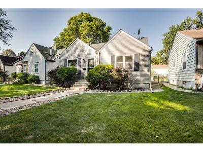 Minneapolis MN Single Family Home For Sale: $300,000