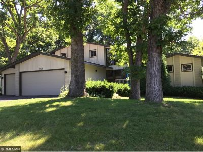 Edina Single Family Home For Sale: 5421 Malibu Drive