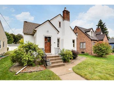 Minneapolis Single Family Home For Sale: 3219 Benjamin Street NE