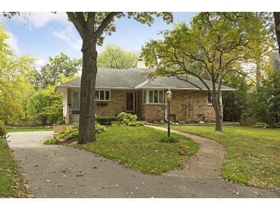 Edina Single Family Home For Sale: 4613 Cascade Lane