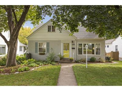 Minneapolis Single Family Home For Sale: 5413 Oliver Ave S