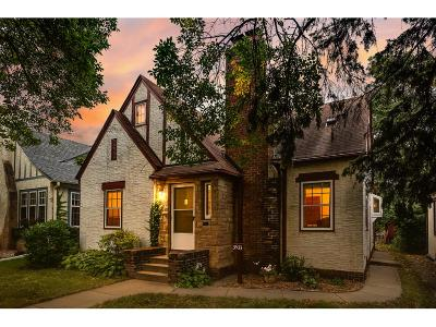 Minneapolis Single Family Home For Sale: 3533 46th Avenue S