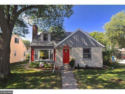 Minneapolis Single Family Home For Sale: 5800 19th Avenue S