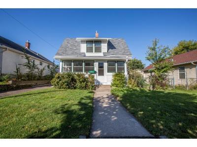 Minneapolis MN Single Family Home For Sale: $179,900