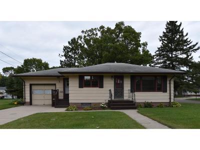 Staples Single Family Home For Sale: 721 Michigan Avenue NE