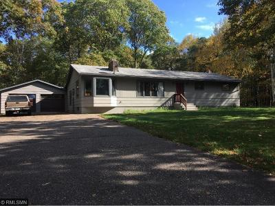 Brainerd Single Family Home For Sale: 16092 Carlson Lake Road