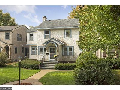 Saint Paul Single Family Home Contingent: 377 Woodlawn Avenue