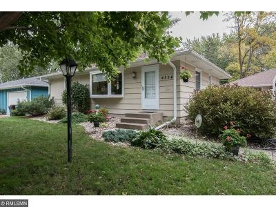 Eagan Single Family Home For Sale: 4254 Limestone Drive