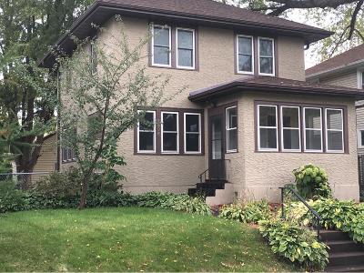 Saint Paul Single Family Home For Sale: 1806 Jefferson Avenue