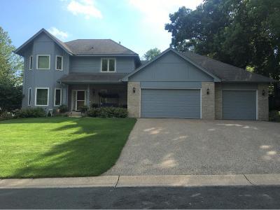 Eagan Single Family Home For Sale: 4833 Four Seasons Drive