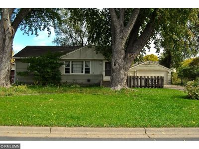 Coon Rapids Single Family Home For Sale: 8369 E River Road NW