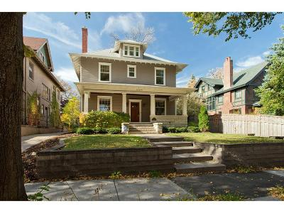 Hennepin County Single Family Home For Sale: 1708 Irving Avenue S