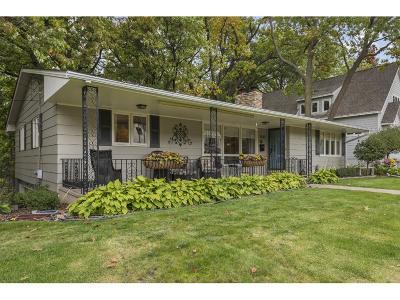 Edina Single Family Home For Sale: 5820 Dale Avenue