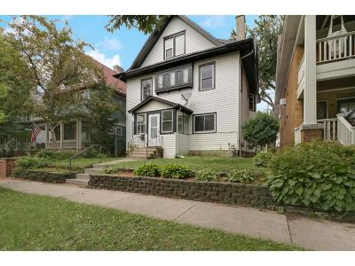 Saint Paul Single Family Home For Sale: 847 Ashland Avenue