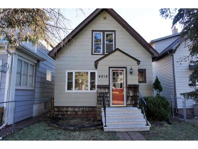 Duluth Single Family Home For Sale: 4218 W 4th Street