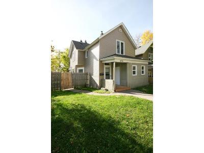 Saint Paul Single Family Home For Sale: 674 Magnolia Avenue E