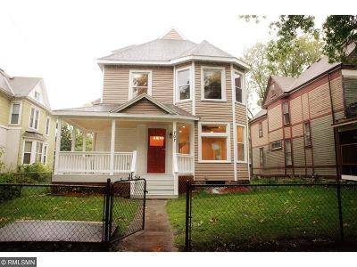 Saint Paul Single Family Home For Sale: 707 Marshall Avenue