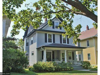 Saint Paul Single Family Home For Sale: 1856 Laurel Avenue