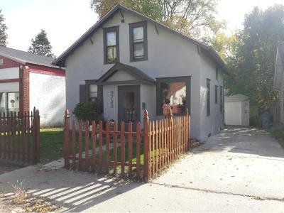 Minneapolis MN Single Family Home For Sale: $214,900
