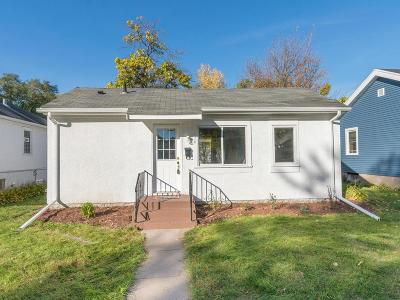 Minneapolis MN Single Family Home For Sale: $114,900