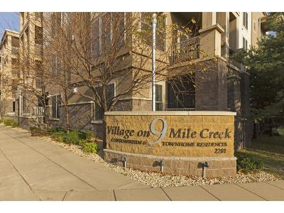 Bloomington Condo/Townhouse For Sale: 2201 Village Lane #A302