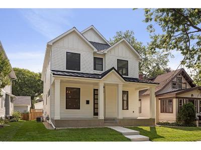 Minneapolis Single Family Home For Sale: 5340 Beard Avenue S