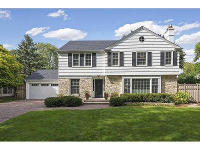 Edina MN Single Family Home For Sale: $1,099,000