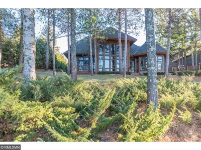 Nisswa MN Single Family Home For Sale: $1,750,000