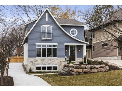 Edina Single Family Home For Sale: 5928 Oaklawn Avenue