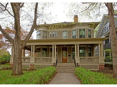 Saint Paul Single Family Home For Sale: 802 Fairmount Avenue