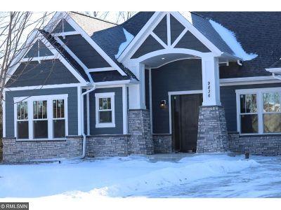 Eden Prairie Single Family Home For Sale: 9836 Crestwood Terrace