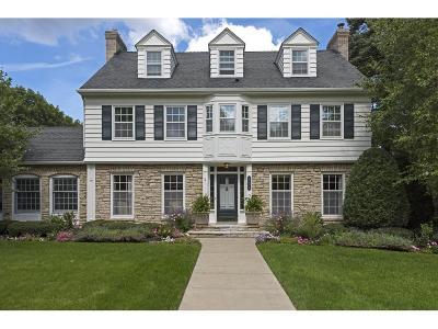 Edina Single Family Home For Sale: 4506 Golf Terrace