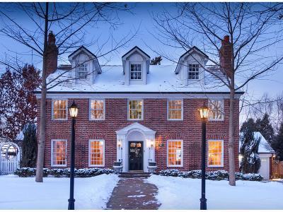 Edina Single Family Home For Sale: 4608 Golf Terrace